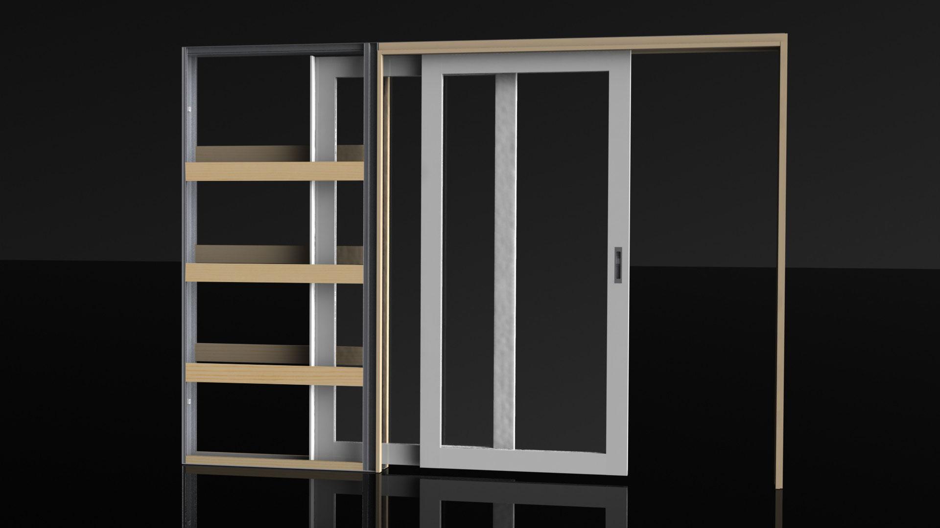 Overtaking Doors Cavity Sliders For Large Openings