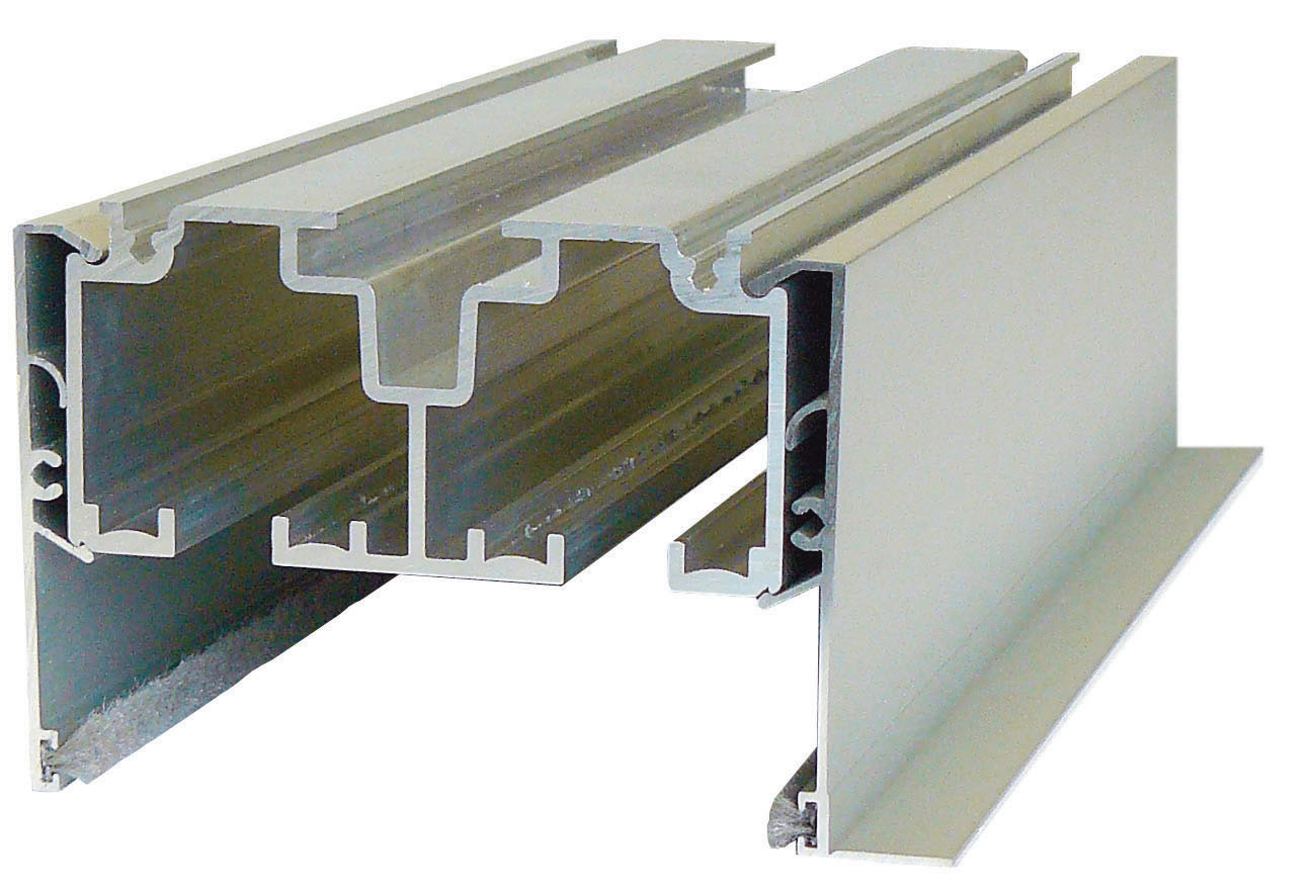Top mounted sliding door track for Sliding wall track