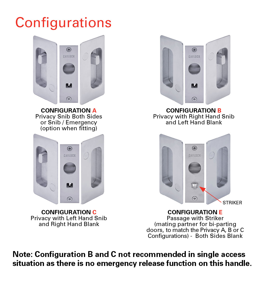 CL200 Privacy Configurations