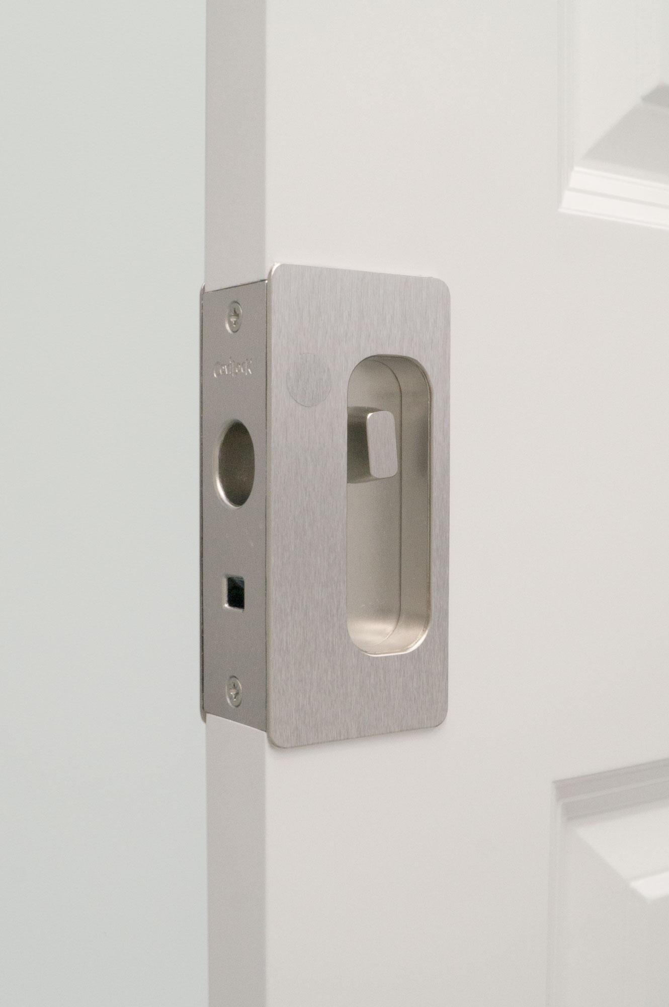 CL200 Privacy Satin Nickel