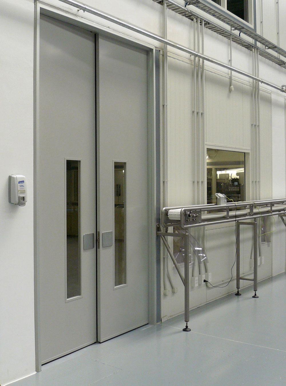 Double AluJambs set with AluLite doors