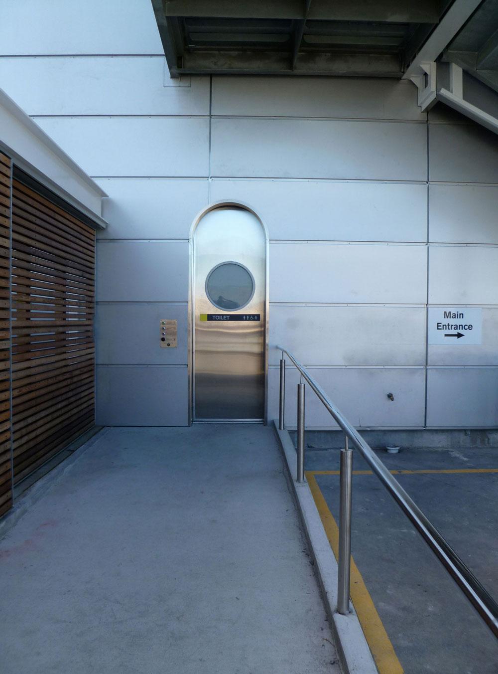 Exterior AutoCav WC